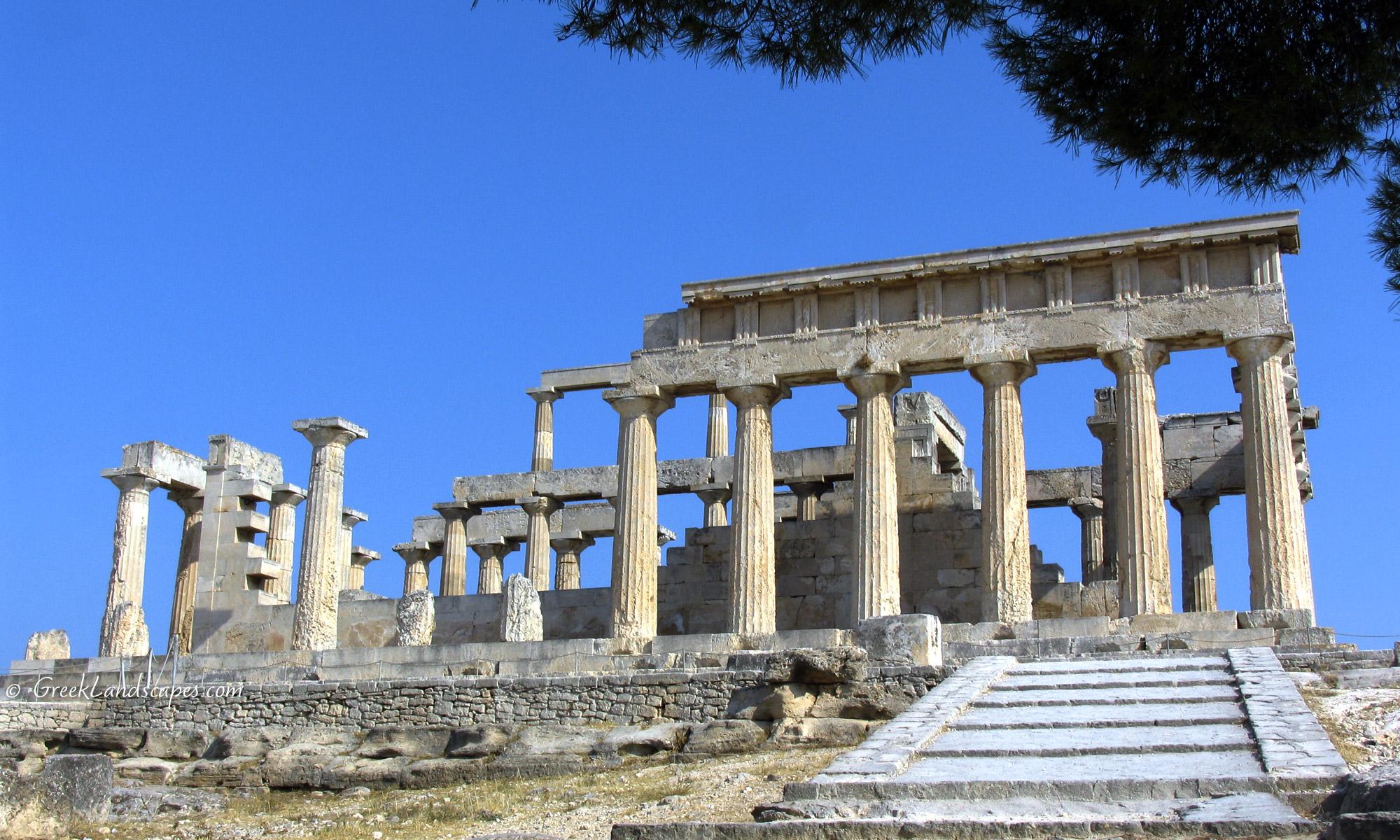 Athena Aphaia Temple