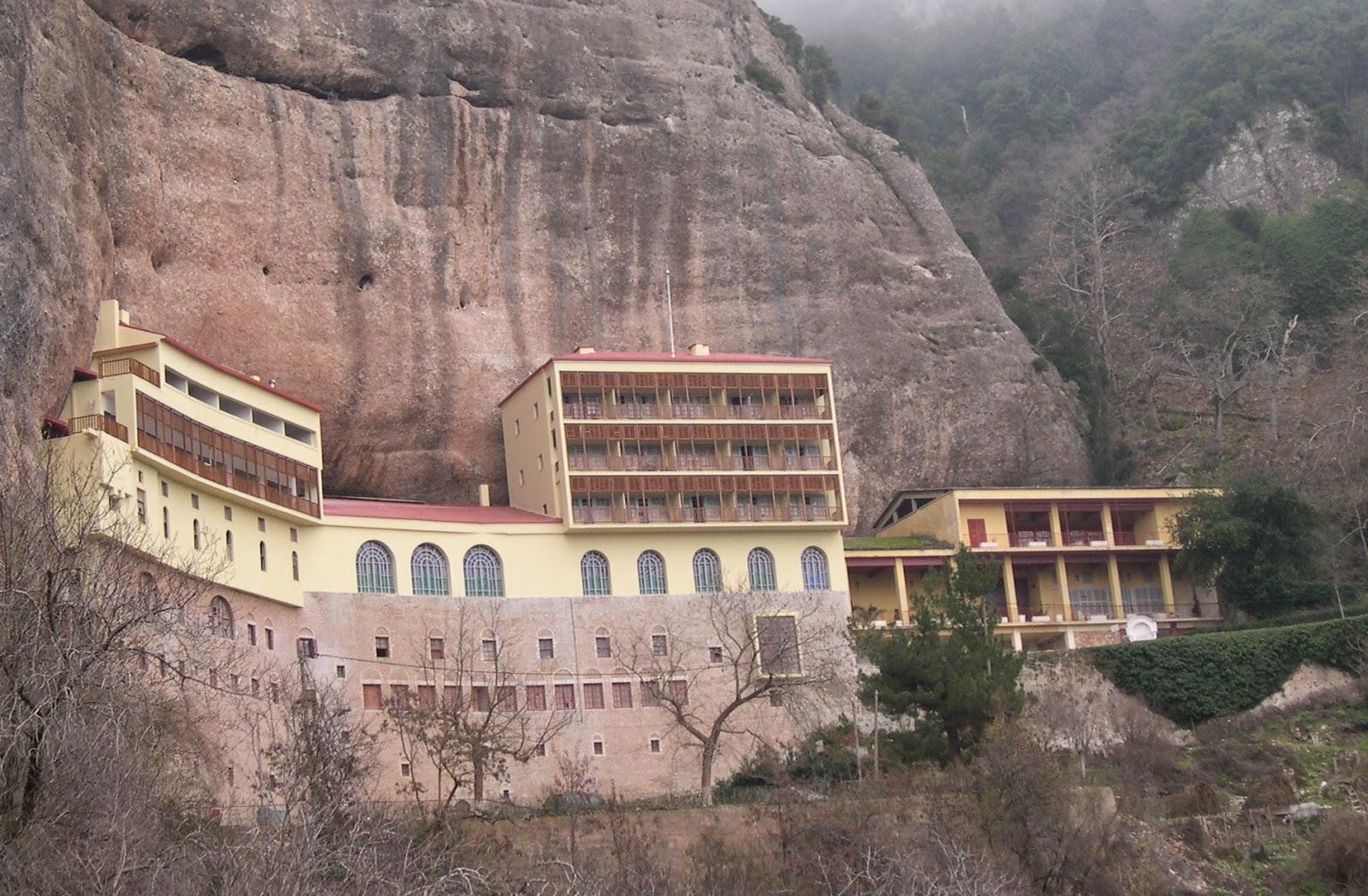 Megalo Spileo Monastrery