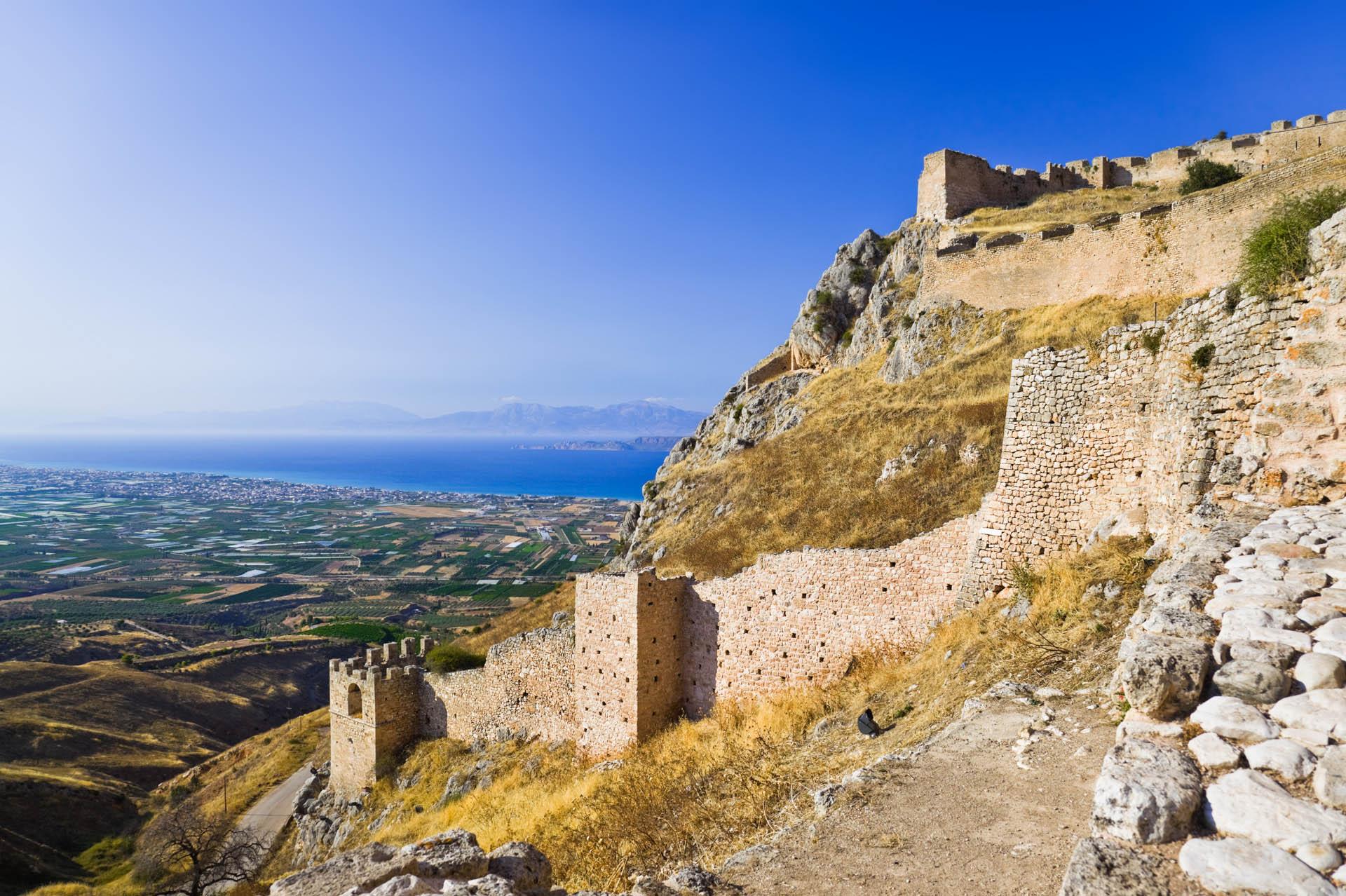 Acrocorinth Castle