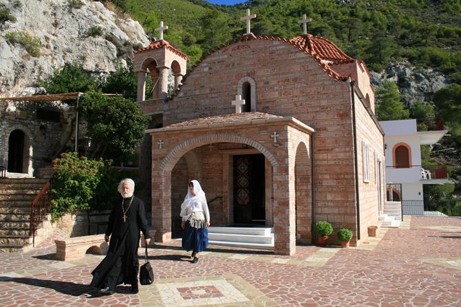 Hosios Monastery