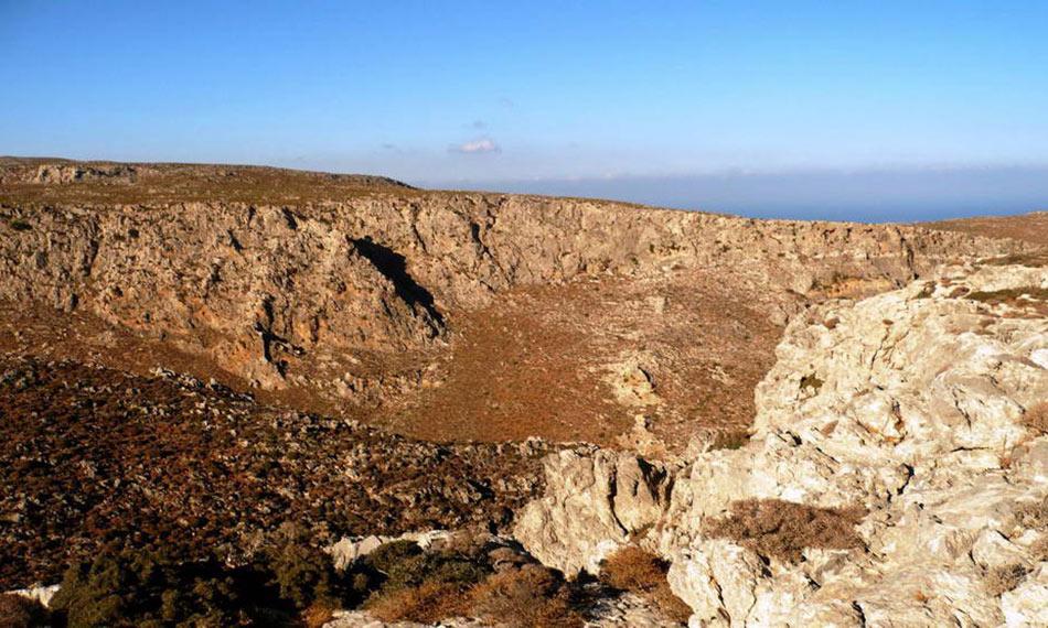 Xerokampos Gorge