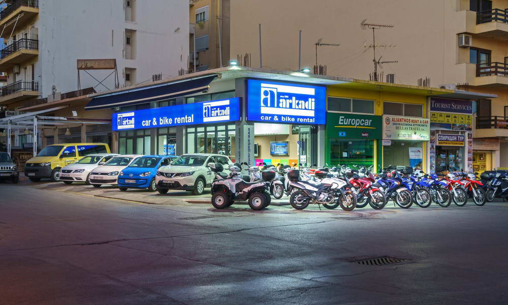 Arkadi Car & Bike Rental