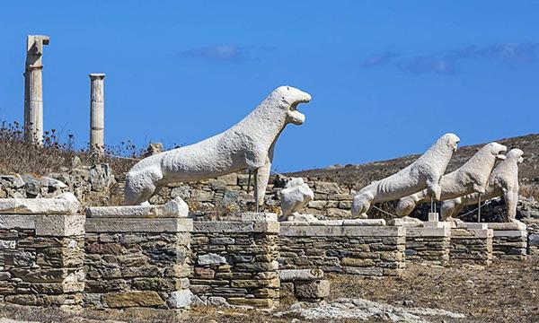 Archaeological Site Delos