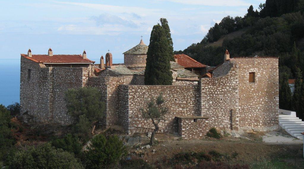 Agia Varvara Monastery